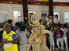 Após desfile, Solange Gomes esclarece polêmica sobre fantasia