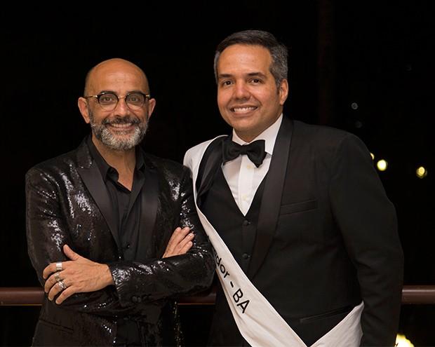 Fábio Bibancos e Leonardo Costa (eleito Melhor Dentista do Mundo 2017) (Foto: Divulgação)