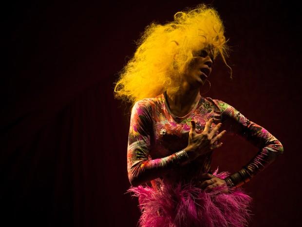 VIRADA CULTURAL - Sábado (21h): Palco Cabaret Burlesco promove batalha das drags que irá eleger, por meio de performance musical, a Rainha Drag Queen da Virada Cultural (Foto: Victor Moriyama/G1)