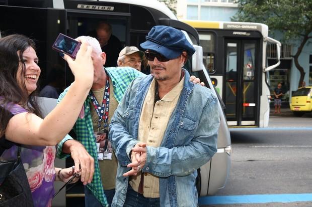 Johnny Depp (Foto: André Freitas / AgNews)