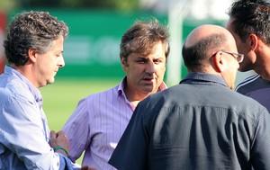 Paulo Nobre Gilson Kleina Palmeiras (Foto: Edno Luan / Agência Estado)