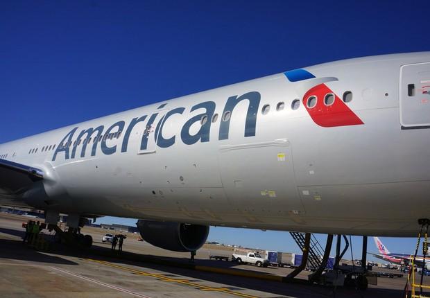 Avião da companhia aérea American Airlines (Foto: Getty Images)