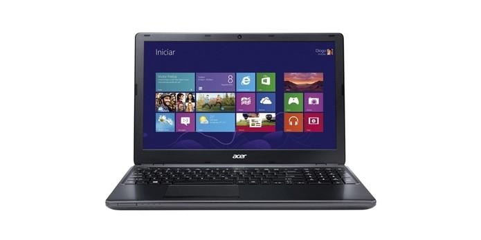 Aspire E1 é o notebook com chip Intel com preço mais acessível (Foto: Divulgação)