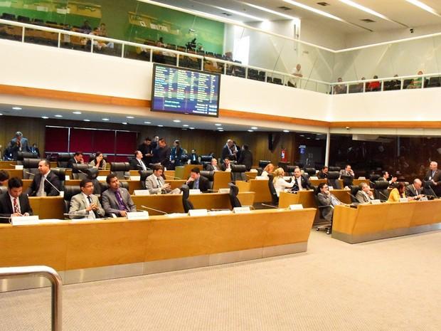 Votação ocorreu na plenária da Assemblei Legislativa do Maranhão em São Luís (Foto: Reprodução/TV Mirante)