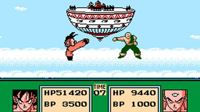 Há toda uma série de RPGs de Dragon Ball esquecidos no Nintendo 8 Bits (Foto: Vizzed)