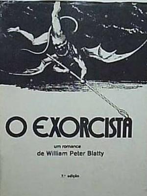 Uma das capas do livro 'O Exzorcista', clássico da literatura estrangeira (Foto: Reprodução)
