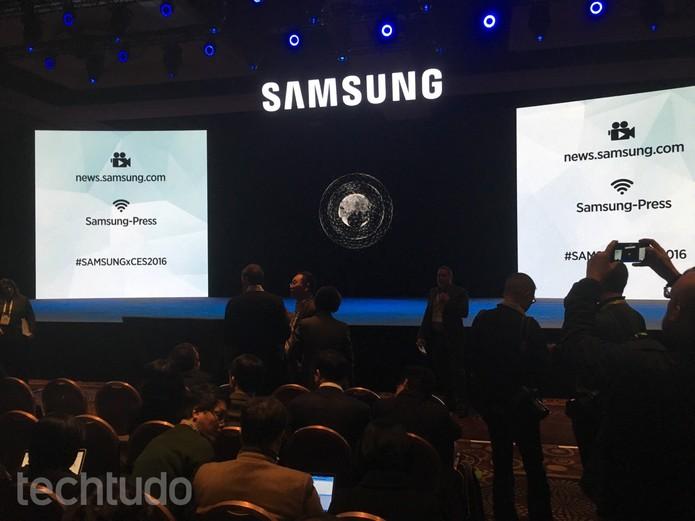 Samsung CES 2016 (Foto: Reprodução)