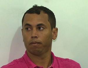 David Bolinho, meia do Boquinhense (Foto: Reprodução/TV Sergipe)