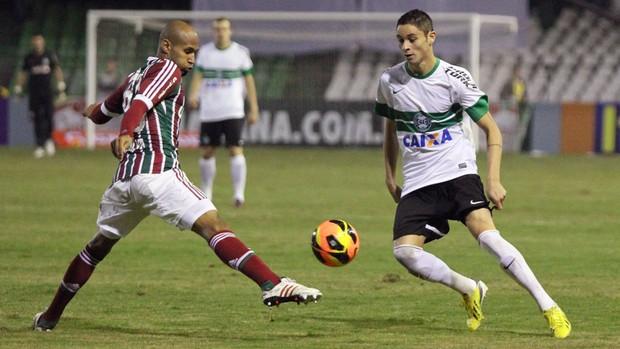 Diogo Coritiba Fluminense (Foto: Divulgação / Site oficial do Coritiba)