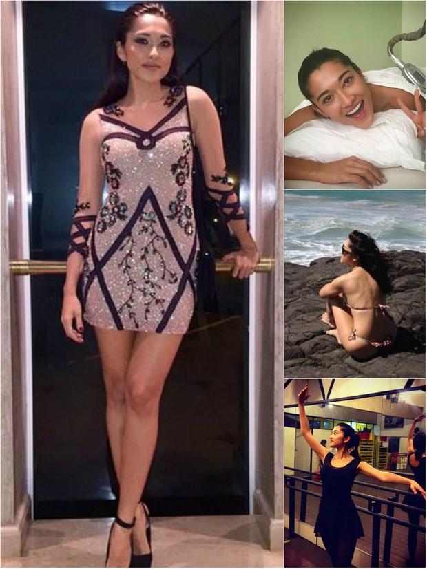 A atriz Jacqueline Sato trocou o manequim 38 pelo 36 em menos seis meses sem fazer dieta (Foto: Reprodução do Instagram)