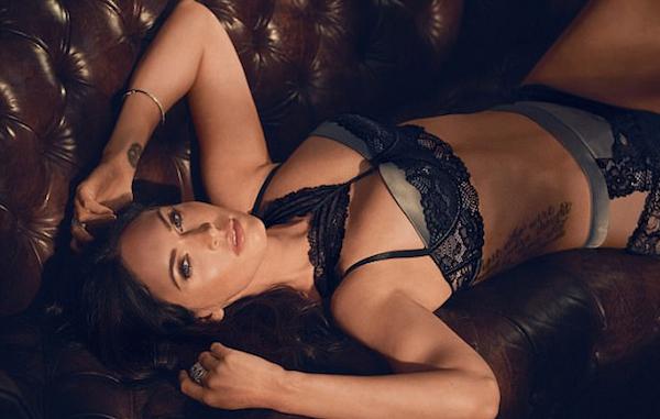 Uma foto do ensaio da atriz Megan Fox (Foto: Divulgação)