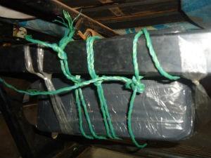 Droga estava escondida embaixo de poltrona (Foto: Divulgação/DOF)