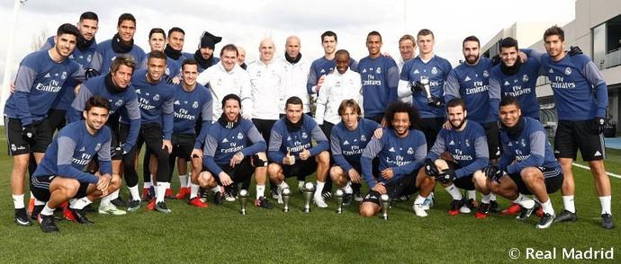 Elenco Real Madrid Fifa The Best (Foto: Reprodução / Site Oficial)