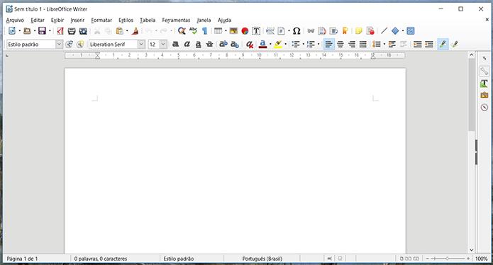 Empate é o resultado mais justo entre WPS Office e LibreOffice (Foto: Reprodução/Filipe Garrett)