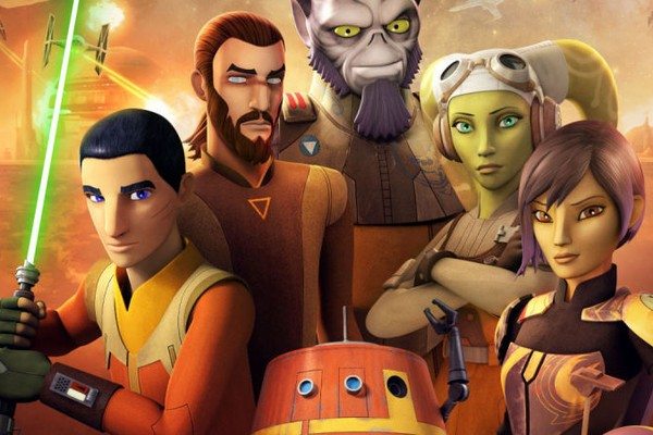 Os personagens da animação Star Wars Rebels (Foto: Divulgação/Reprodução)