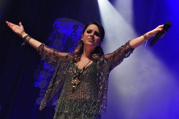 Sandy faz show no Rio (Foto: Roberto Teixeira/EGO)