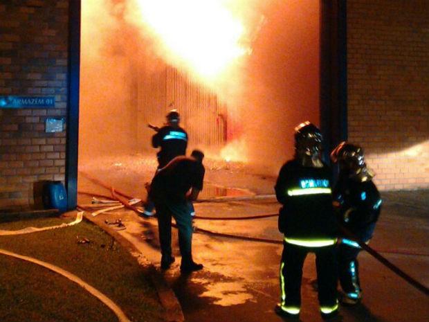 Resultado de imagem para indústria de erva mate queimando