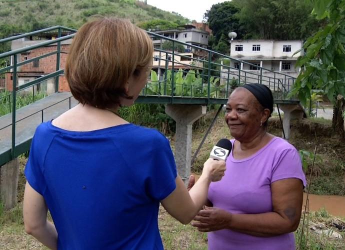'Revista' mostrou moradores que se uniram para construir uma ponte  (Foto: Reprodução/ Rio Sul Revista)
