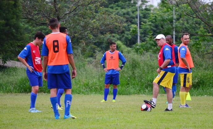 Sao José dos Campos FC treino (Foto: Danilo Sardinha/GloboEsporte.com)