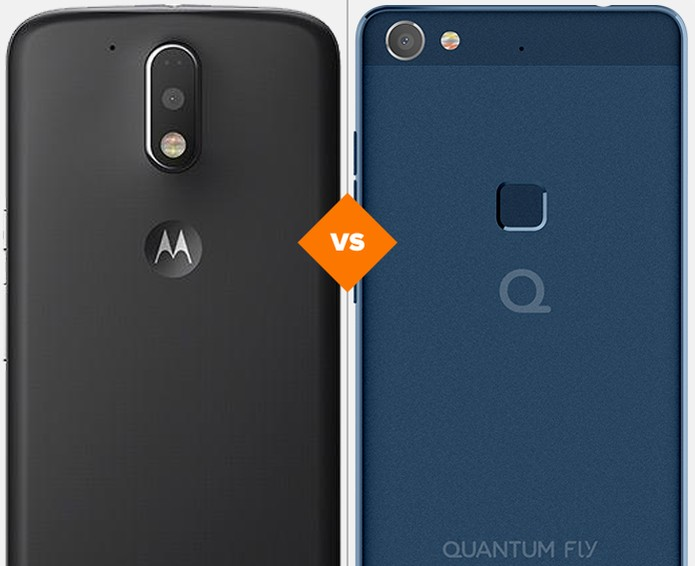 Moto G 4 ou Quantum Fly: veja qual celular intermediário se sai melhor em comparativo (Foto: Arte/TechTudo)