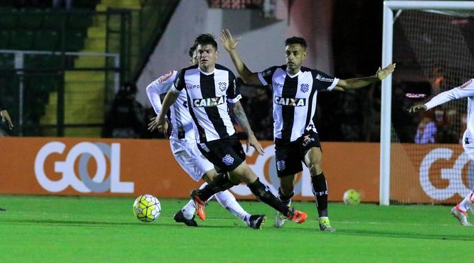 Jocinei e Werley Figueirense (Foto: Luiz Henrique/Figueirense FC)