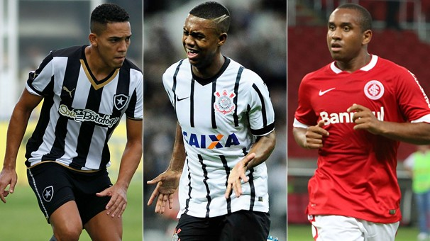 Botafogo, Corinthians e Internacional jogam neste domingo, dia 29, por seus campeonatos estaduais (Foto: globoesporte.com)