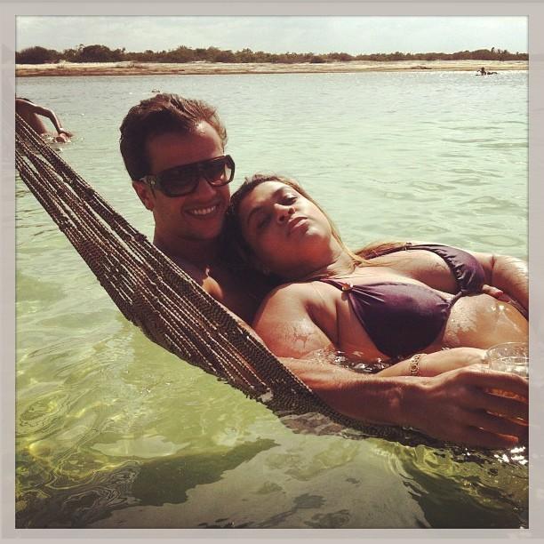 Preta Gil e o marido (Foto: Reprodução/ Instagram)