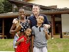 Conheça a casa em que Angélica Ramos mora com o namorado e os filhos em São Paulo