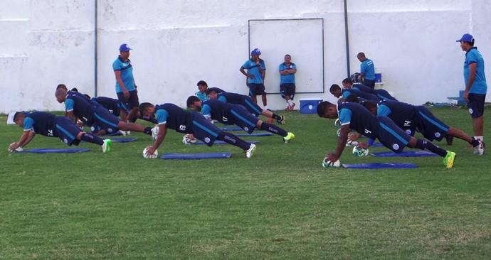 Confiança, preparação física, Sabino Ribeiro (Foto: Divulgação / ADC)
