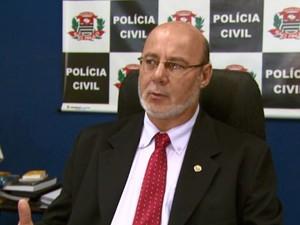Delegado seccional Sebastião Antonio Mayriques (Foto: Eder Ribeiro/ EPTV)