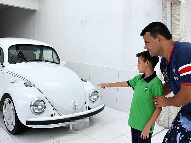 Fábio Melo diz que sempre apoiou o sonho do filho (Foto: Indiara Bessa/ G1 AM)