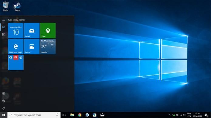 Windows 10 recebeu sutis mudanças visuais (Foto: Reprodução)
