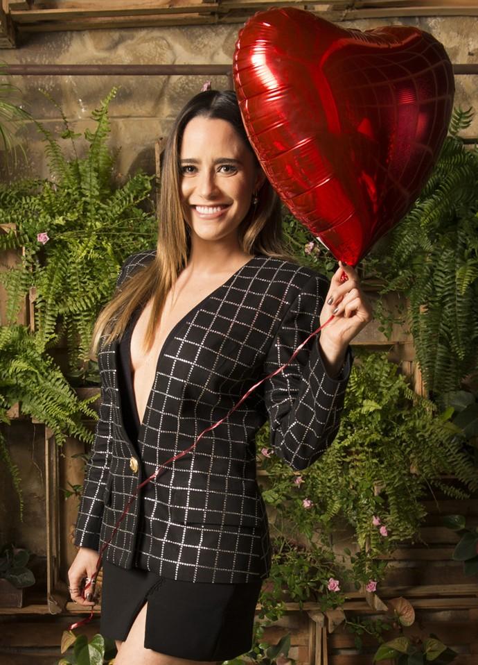 Fernanda Vasconcellos se revela ansiosa para a estreia de 'Haja Coração' (Foto: Ramón Vasconcelos/Globo)