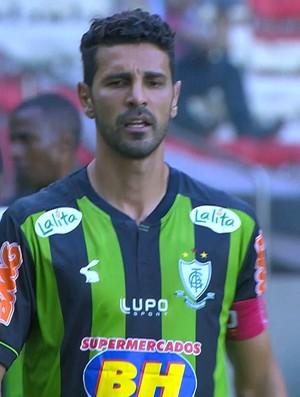 Leandro Guerreiro, voltante do América-MG (Foto: Reprodução/Premiere FC)