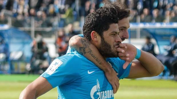 Hulk e danny gol Zenit (Foto: Getty Images)