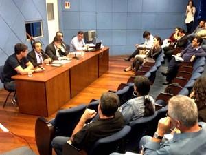 CPI dos trotes ouve alunos e ex-alunos da PUC e Unicamp na Câmara de Campinas (Foto:  Assessoria da Câmara de Vereadores de Campinas)