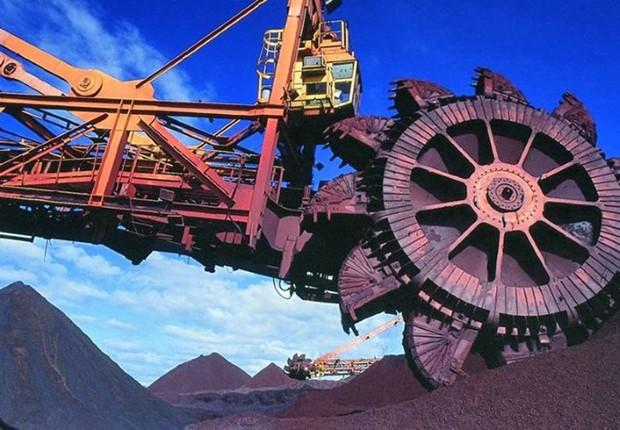 Operação da mineradora Vale (Foto: Divulgação)