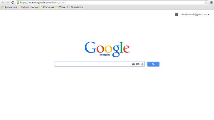 O Google também permite que seus usuários pesquisem através de um motor próprio para receber e processar buscas por arquivos de imagens (Foto: Reprodução/Daniel Ribeiro)