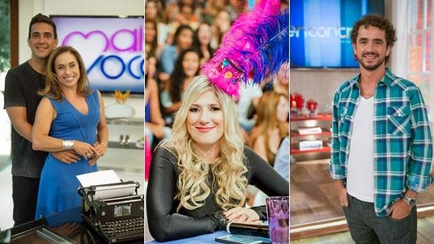 Folia toma conta da programação da Globo (Globo)