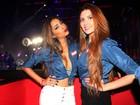 Tamires e Talita têm primeiro encontro após saia justa no 'BBB15'