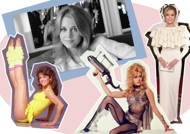 Jane Fonda  (Foto: Reprodução e Getty)
