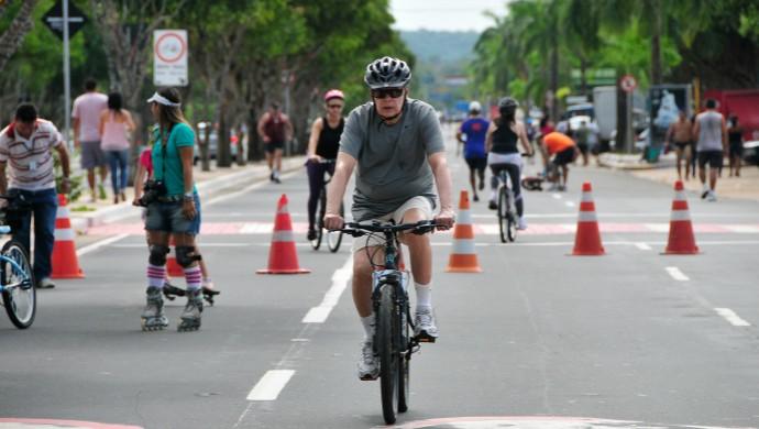 Faixa Liberada Manaus (Foto: Antônio Lima/Semjel)