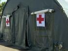 Atendimento é adiado por falta de ar-condicionado em tenda do Exército
