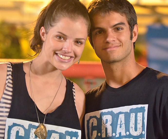 Daniel Blanco foi par romântico de Agatha Moreira em 'Malhação' (Foto: TV Globo/Frederico Rozário)