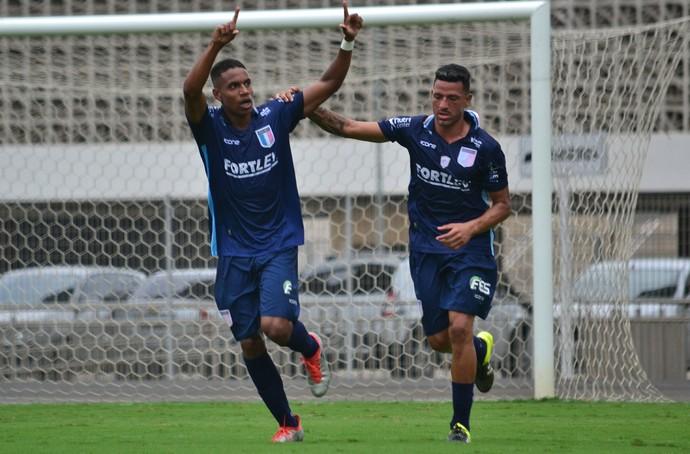 Victor, atacante do Espírito Santo (Foto: João Brito/Espírito Santo FC)