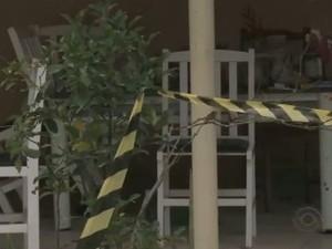 Homicídio ocorreu no dia 21 de novembro (Foto: Reprodução RBS TV)