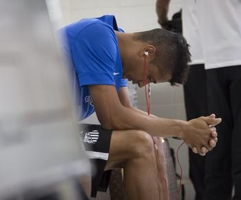 Cícero Santos (Foto: Ricardo Saibun / Divulgação SantosFC)