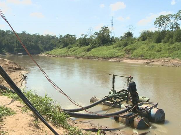 Acre pode decretar Estado de Emergência devido a seca do Rio Acre (Foto: Reprodução/Rede Amazônica Acre)