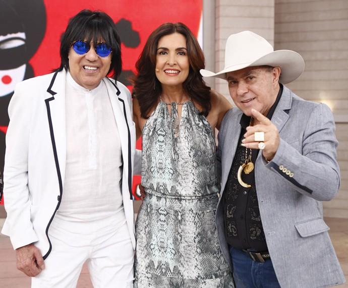 Dupla Milionário e Marciano se apresentou no programa (Foto: Fabiano Battaglin/Gshow)