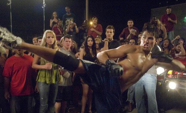 Jake Tyler (Sean Faris) quer se vingar do lutador Ryan após surra (Cam Gigandet) (Foto: Divulgação)